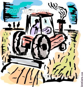 287x300 Tractor Clipart Microsoft Word