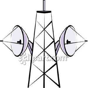 300x300 Tower Clipart Microwave Tower