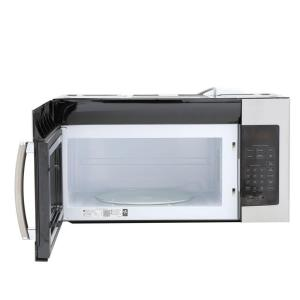 300x300 Ge 1.6 Cu. Ft. Over The Range Microwave Oven In Stainless Steel