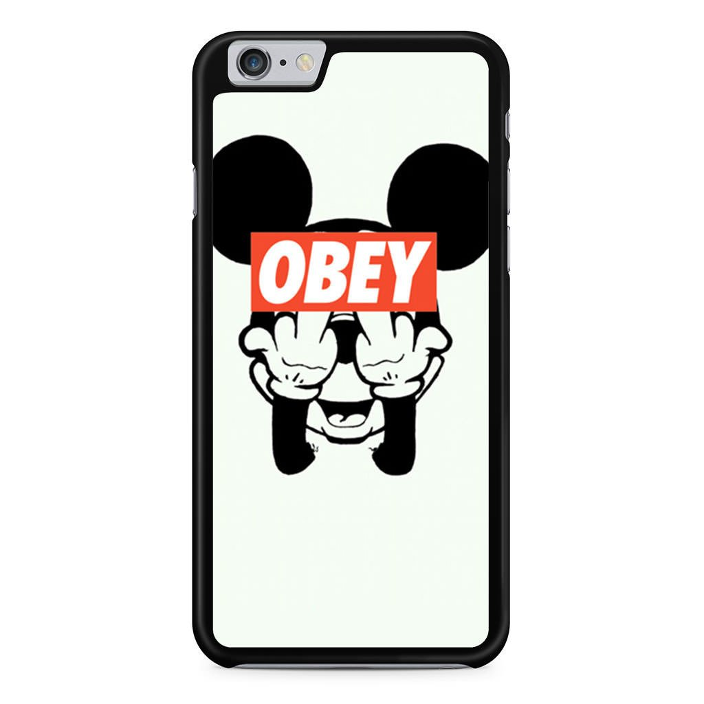 1024x1024 Mickey Mouse Mid Finger Obey Iphone 6 Plus 6s Plus Case Minimerch