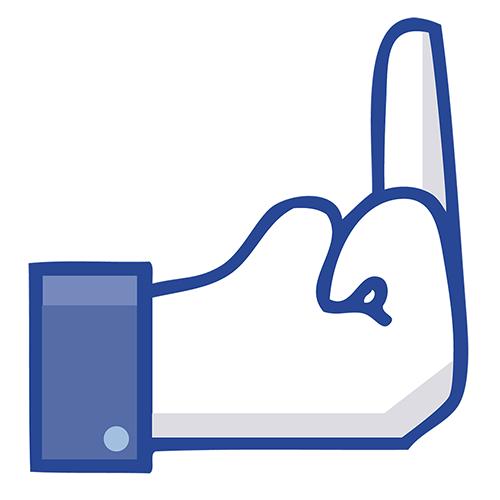 500x500 Middle Finger Emoticon For Facebook Symbols Amp Emoticons
