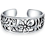160x160 Bling Jewelry 925 Sterling Silver Dot Mid Finger Ring Bali Style