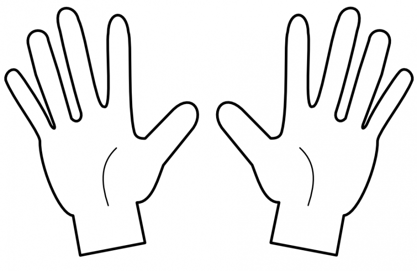 Middle Finger Clipart