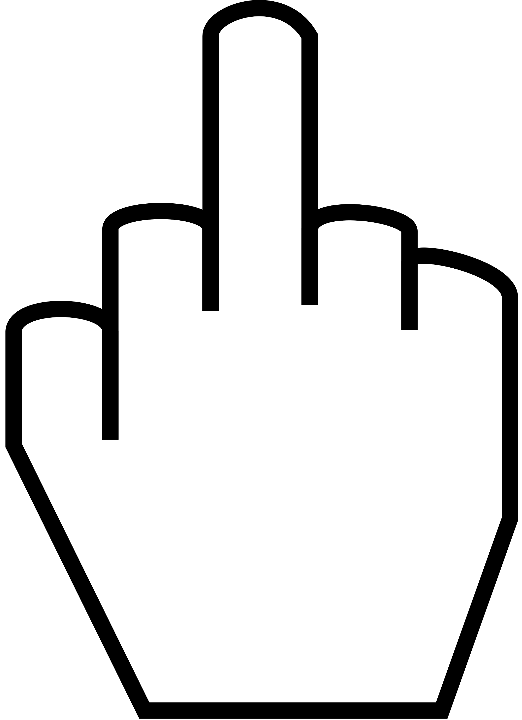 2000x2758 Clip Art Middle Finger 2