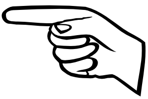 300x200 Pointing Finger Free Clipart Middle Finger Clip Art