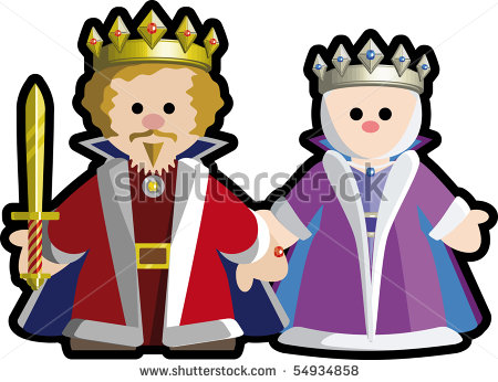 450x346 Medieval Clipart King And Queen