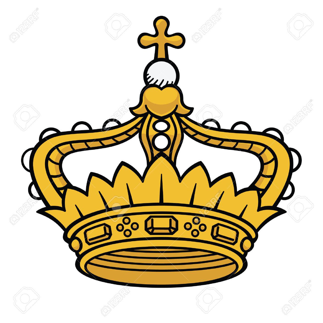1300x1300 Crown Clipart Medieval Crown