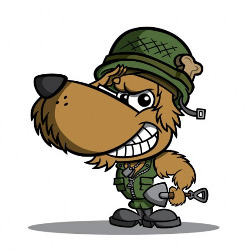 500x500 Military Clipart Animated