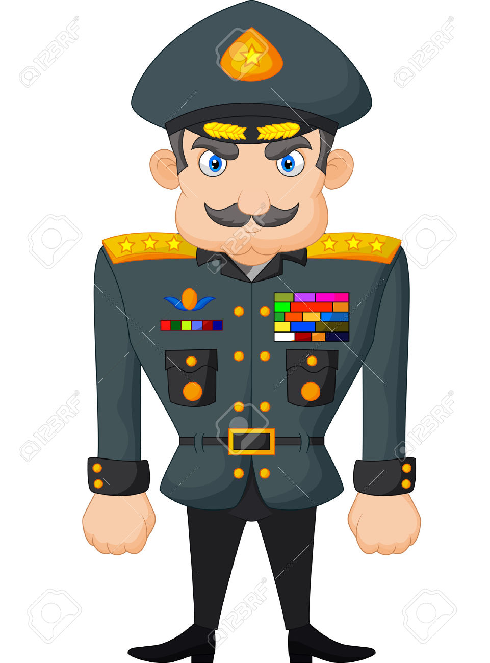 961x1300 Military Clipart Army General