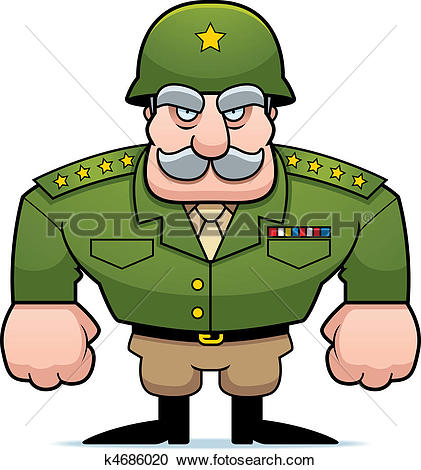 421x470 Military Clipart General
