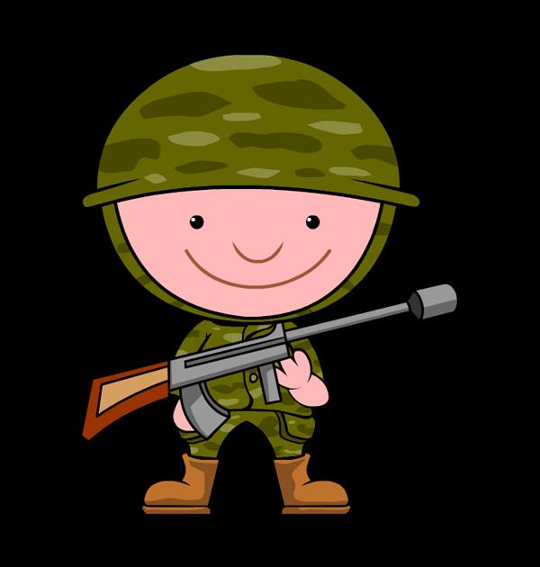 600x630 Military Clipart Veteran
