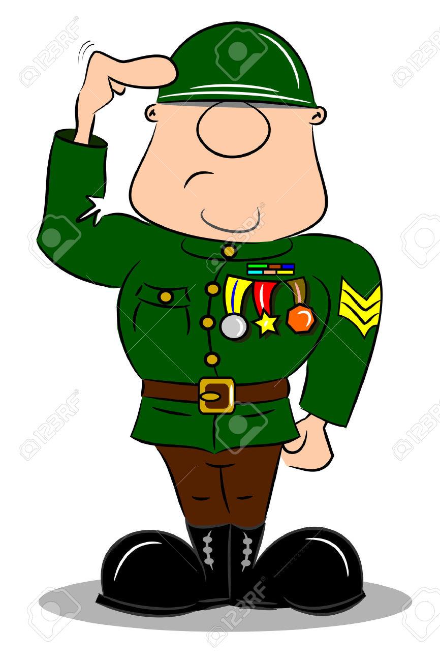 866x1300 Army Cartoon Clipart