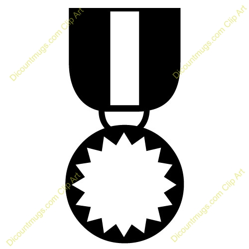 500x500 Military Medal Clip Art Free Download Military Medal Clipart
