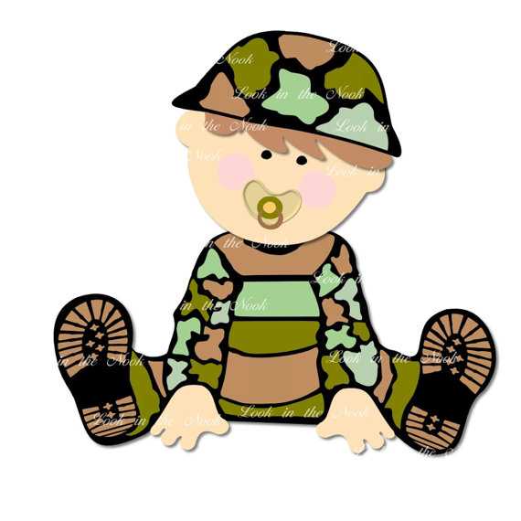 570x570 Digital Graphic Army Baby Designs, Jpeg Amp Png Files, Jeep