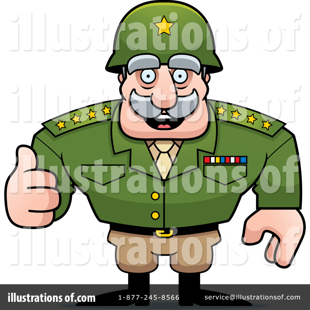 1024x1024 Army General Clipart