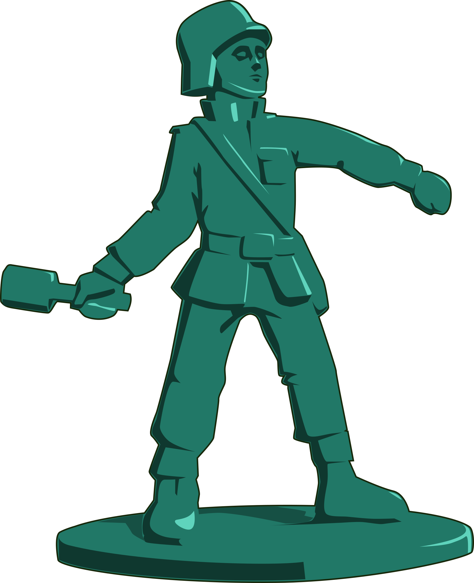 1953x2400 Military Clipart Toy Soldier