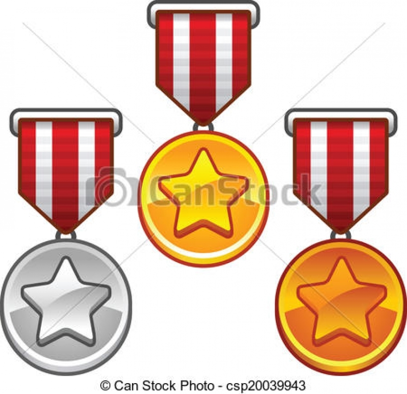 820x794 Military Medal Clip Art Free Download Eps Vector Of Military