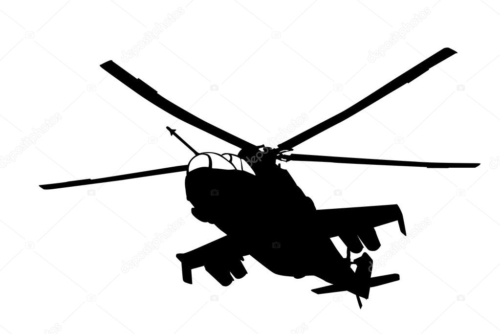1023x683 Helicopter Silhouette Stock Vectors, Royalty Free Helicopter