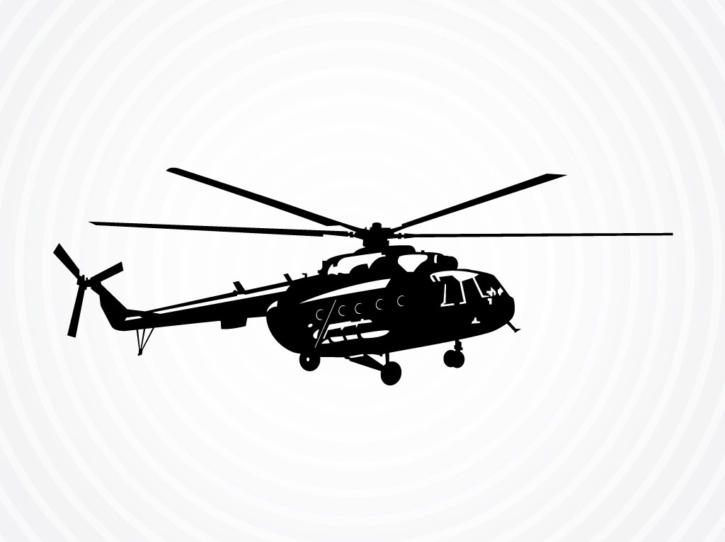 1024x765 Vector Helicopter