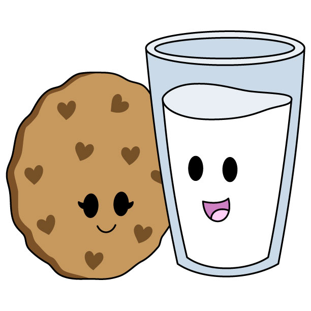 612x612 Cookies And Milk, Cookies And Milk. Nothing Goes Together Like