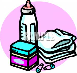 Milk Bottle Clipart