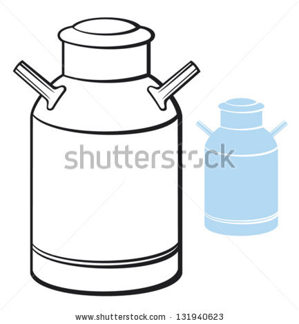 433x470 Milk Jug Clipart Milk Can