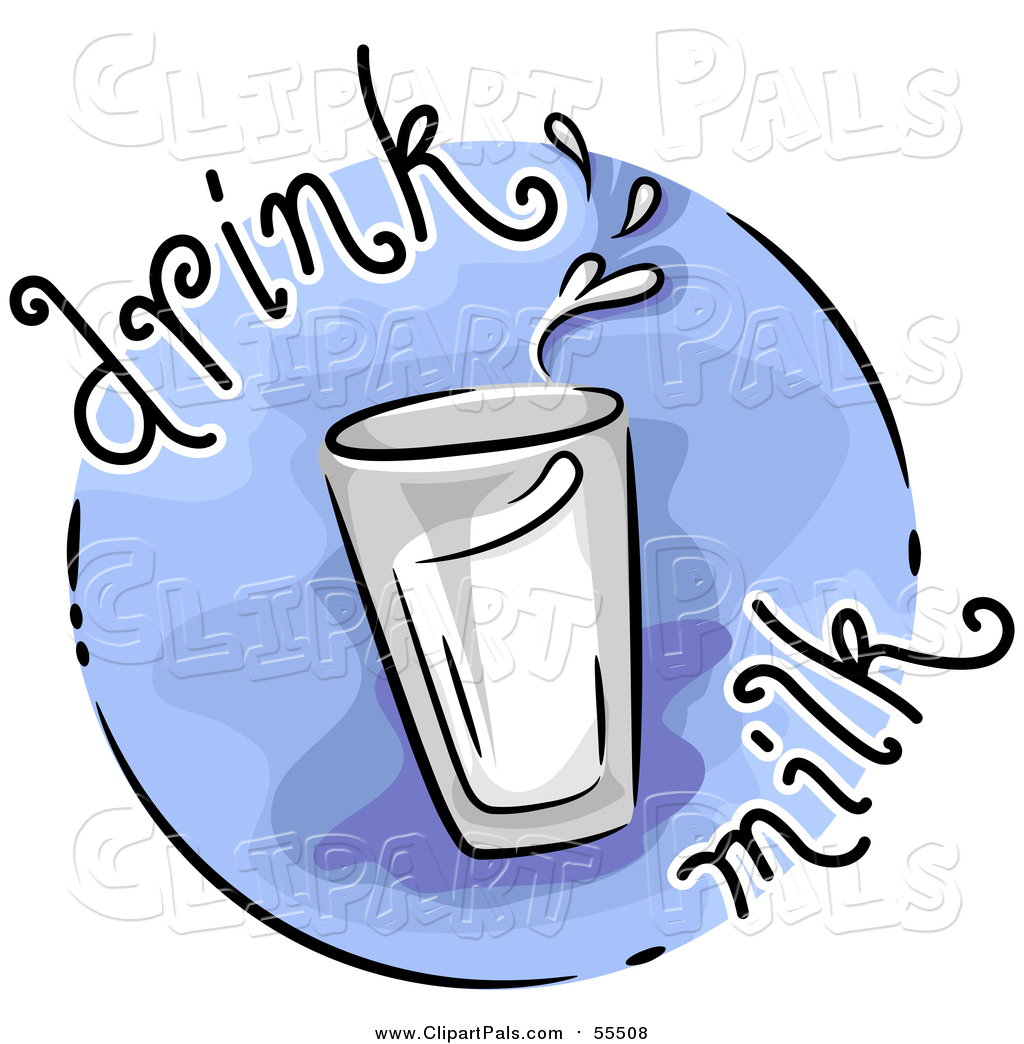 1024x1044 Pal Clipart Of A Round Blue Drink Milk Nutrition Blog Icon By Bnp