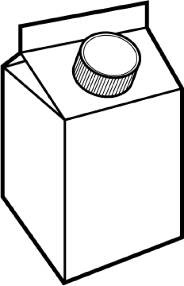 377x585 Milk Carton Clip Art