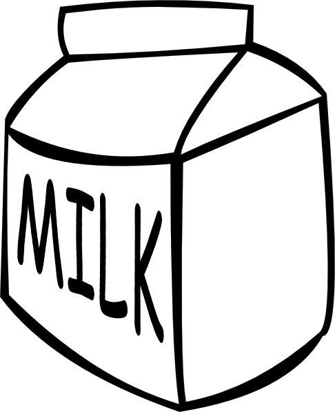 486x597 Milk Carton Clip Art