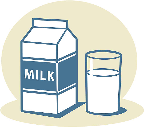 612x539 Milk Carton Clipart Glass Milk