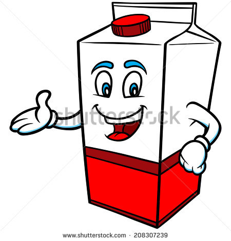 450x470 Milk Carton Clipart Hot Milk