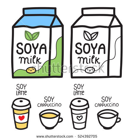 450x470 Milk Carton Clipart Latte