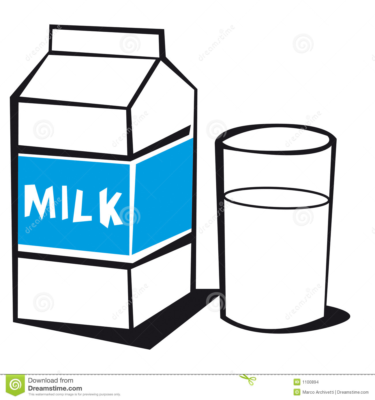 1300x1390 Milk Carton Clipart Milk Box