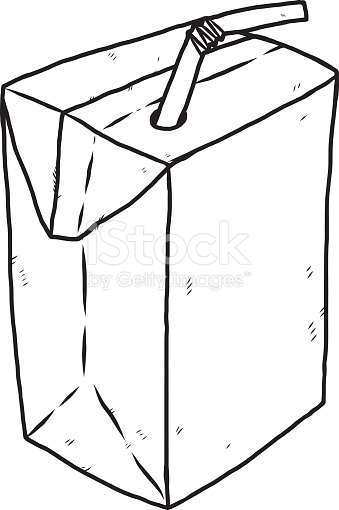 339x510 Milk Carton Clipart Straw