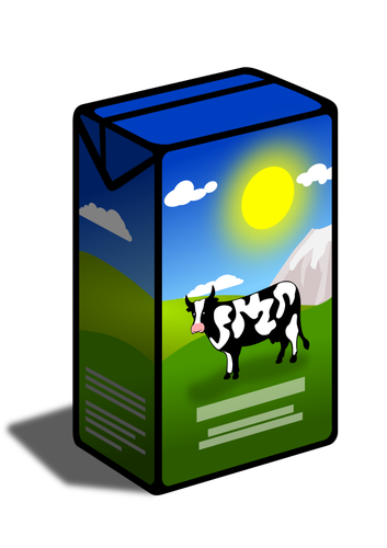 353x500 Milk Carton Public Domain Vectors