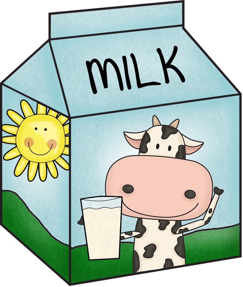 813x963 Milk Carton Clipart