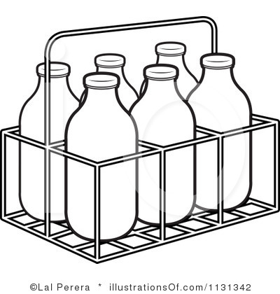 400x420 Milk Carton Clipart Illustration