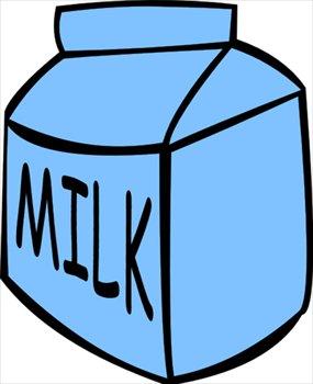 285x350 Milk Carton Clipart