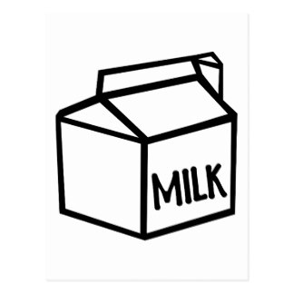 324x324 Milk Carton Postcards Zazzle