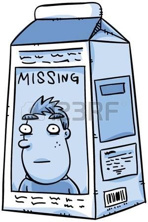 300x450 Missing Milk Carton Clipart
