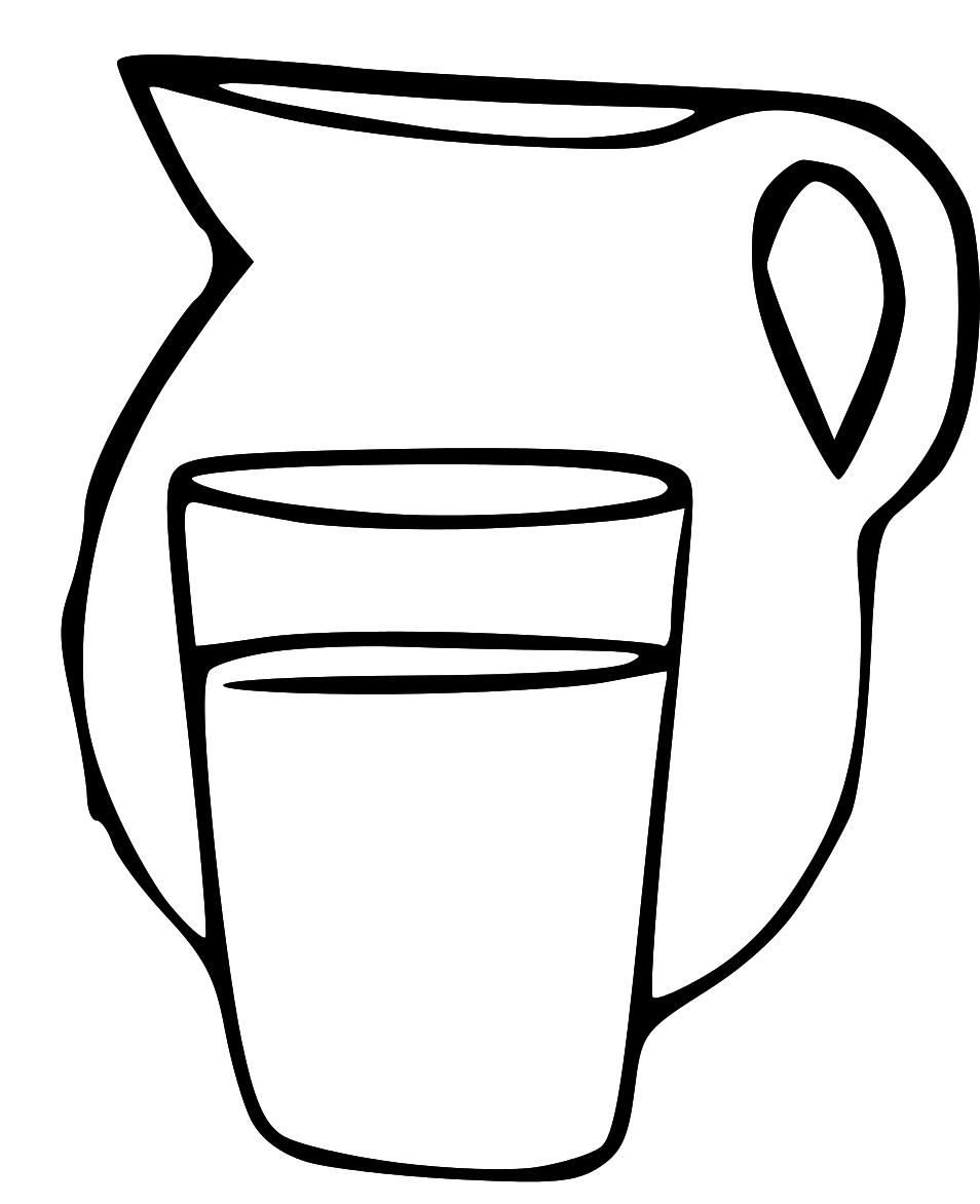 954x1172 Milk Jug Clipart Pitcher Water