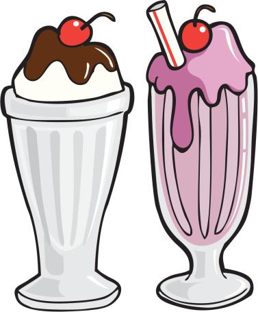 377x455 Straw Clipart Milkshake