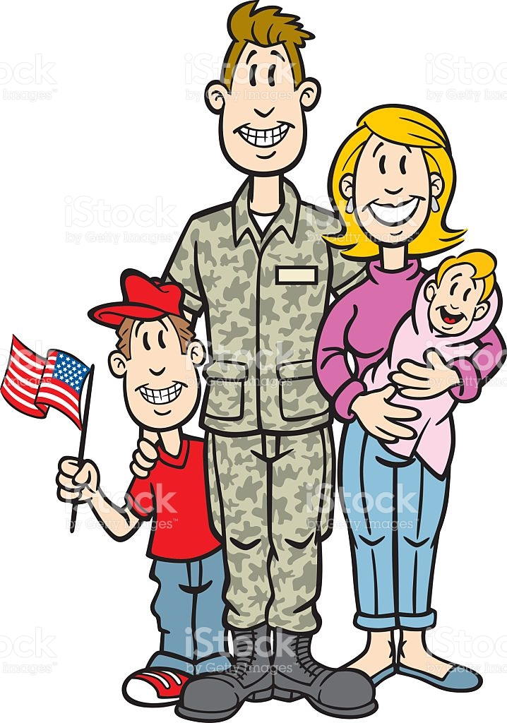 718x1024 Military Clipart Military Family