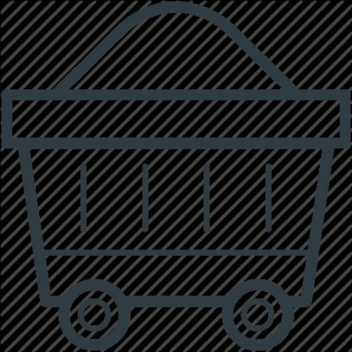 512x512 Cart Clipart Gold Mine
