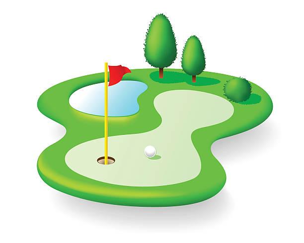 612x490 Golf Course Clipart Golf Green