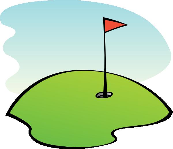 600x517 Mini Golf Clipart