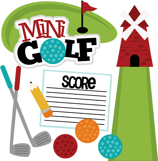 648x657 Best Mini Golf Clip Art