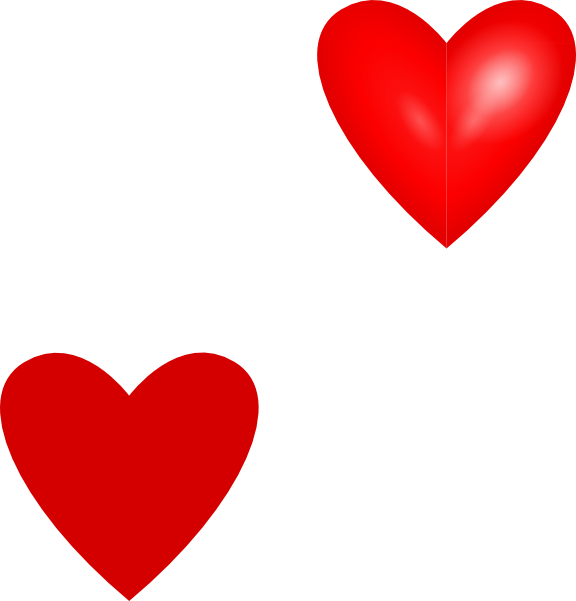 576x601 Hearts Clipart Mini Heart