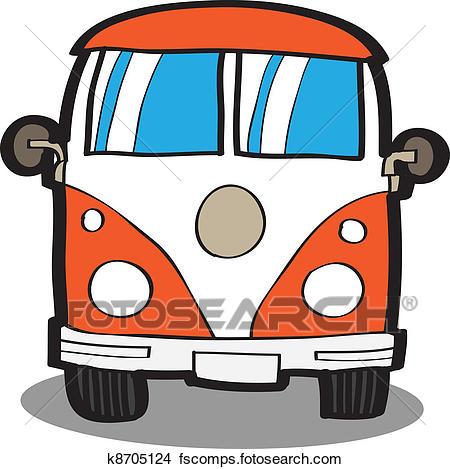 450x469 Clipart Of Minivan Cartoon Car K8705124