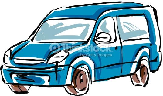 537x319 Drawn Car Minivan